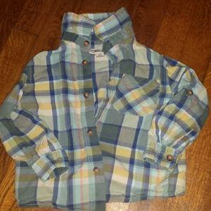 Cherokee boys button down shirt